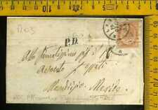 REGNO r 003 1864 De La Rue Londra 10 centesimi isolato tariffa raggio limitrofo