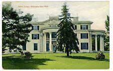 Nebraska City NE - ARBOR LODGE - Postcard