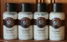 🤍 The Body Shop 🥥 Coconut Shower Cream 🥥 4 x 60ml Travel Size 🤍 Holidays 🤍