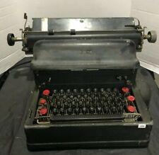 Vintage Black IBM Electric Model A Typewriter