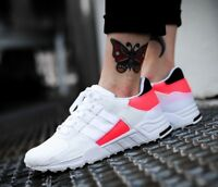 New ADIDAS Originals EQT Support RF Athletic Shoes Mens white pink all sizes
