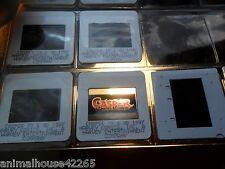 12 LOT SLIDE CASPER  GHOST 1997 MOVIE & BURGER KING PROMOTIONS HARVEY COMICS