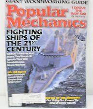 Popular Mechanics Magazine - Fighting Ships Of The 21st Century (Nov. 1999)