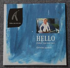 Christina Aguilera, Hello (follow your own star), CD's Promo Mercedes classe A