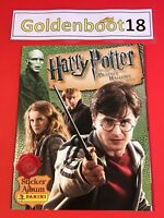 HARRY POTTER AND THE DEATHLY HALLOWS PART 1 PANINI STICKER COLLECTION ALBUM BOOK