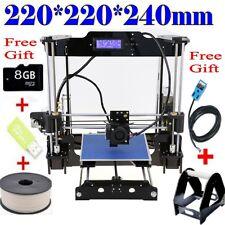 High Precision Auto Leveling 3D Printer Kit DIY BIG Printing Size Reprap Prusa i