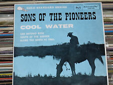 Vintage  Vinyl Sons of the Pioneers  COOL WATER  45 rpm (#20298) EP .Scarce
