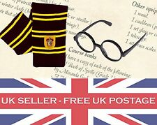 Harry Potter Combo Kit Glasses Scarf Gryffindor House Book Week Day Ron Hermione