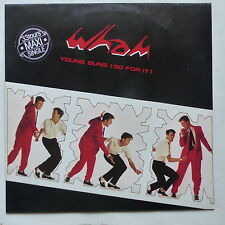 """MAXI 12"""" WHAM GEORGE MICHAEL Young guns go for it       a12 2766"""