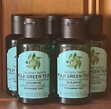 🤍 The Body Shop 💚 Fuji Green Tea Shampoo 💚 5 x 60ml Travel Size 🤍 Holiday 🤍