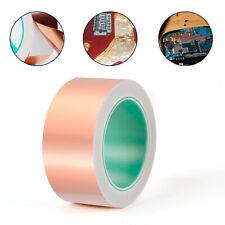 Adhesive Copper Foil Tape 2 inch x 65ft for Guitar EMI Shield Electrical Repair