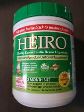 New listing Heiro Healthy Equine Insulin Rescue Organicals 3 Month Supply Sealednew Exp 3/21