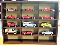 Tablón Vehículos de Juguete Madera miniaturas Expositor Exposición 1:43 Coche