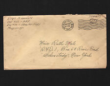 OPC 1943 365th Keesler Field to NY Soldier Free Mail 26687