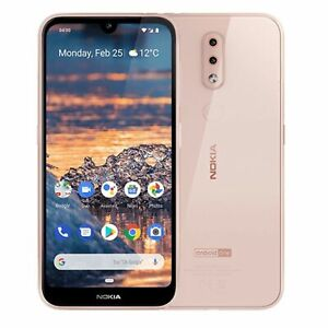 Nokia 4.2 (Unlocked) 32GB 4G GSM unlocked 5.71in 13MP 3GB RAM AI  Pink
