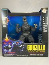"Trendmasters Godzilla Wars Supercharged Black Godzilla 10"" NEW IN BOX VERY RARE!"