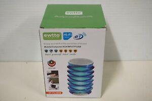 Ewtto Hi-Fi Bluetooth Speaker - Model # ET-P1359B - Mobile/Computer/AUX/MP3/USB