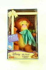 NEW 2005 DISNEY FISHER PRICE BABY MY FIRST TIGGER STUFFED ANIMAL PLUSH TOY DOLL