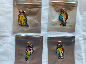 JuJuBe x Tokidoki Kawaii Carnival Zipper Pulls (Never Used) Kaiju