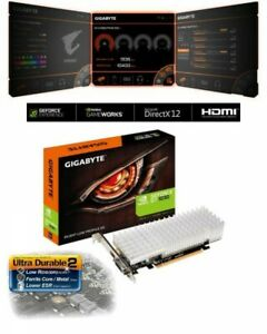 GIGABYTE Video Card GeForce GT1030 Silent LP PCI Exp 3.0 x16 2GB GDDR5 Japan