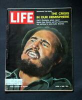 LIFE MAGAZINE JUNE 2 1961 FIDEL CASTRO
