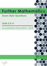 2018 Exam Style Questions for VCE Further Mathematics Units 3 & 4