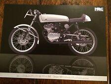 Honda Dream 50 R FOLLETO de ventas 50R. Honda 50 Bicicleta de carreras de HRC. DOHC.