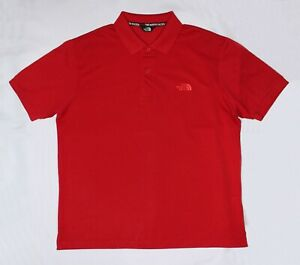 The North Face Red Men's Polo Shirt Like New Condition