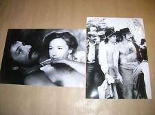 LOT 2 RARES PHOTOS DE STARS / GERARD KLEIN + MARLENE JOBERT / TRES BON ETAT