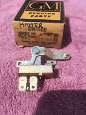 1963 Chevrolet Impala Bel Air Biscayne SS NOS GM Heater Fan Switch #3819637