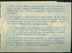 USA London Type XIV nine cents 1946 - International Reply Coupon IRC