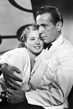 "New 5x7 Photo: Humphrey Bogart and Ingrid Bergman in Film Classic ""Casablanca"""