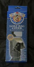 SEAFORTH Rain Gear - Waterproof Golf Bag Rain Hood - Black - Original Box