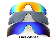Galaxis Ersatzgläser für Oakley Radarlock Path Sonnenbrille blue&gray&red