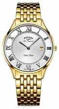 Relojes de pulsera Rotary Quartz de acero inoxidable