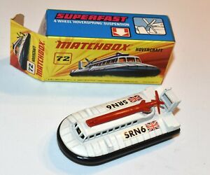 MATCHBOX Superfast Nr. 72 »Hover Craft« 1972 in OVP, unbespielt