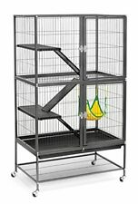 Large Ferret Cage Rabbit Hamster Guinea Pig House Small Pets Home Four Level New