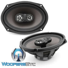 """MB QUART DTE-169 6"""" X 9"""" 3-WAY DISCUS 4 OHM SPEAKERS MADE IN GERMANY BULK PACK"""