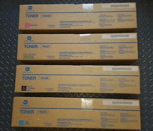 Konica Minolta TN622 Toners - Genuine Full Colour Set (TN622K, Y, C & M)