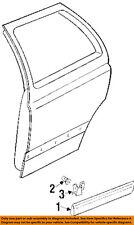 VW VOLKSWAGEN OEM 93-99 Golf Exterior-Rear-Molding Clip 1H0853585