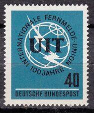 Germany stamp nine no. 337 ** international telecommunications union