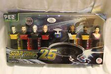 Star Trek TNG Next Generation PEZ 25th anniversary collectors edition candy