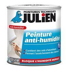 PEINTURE ANTI HUMIDITE JULIEN TOUS SUPPORTS EVITE SALPETRE CLOQUAGE AUREOLE