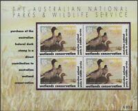 Australia Cinderella Ducks 1993 $10 Wood Duck MS MNH