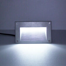 5W Outdoor LED Wall Light Corner Lamp E27 Bulb Walkway Step Gate Junction Box