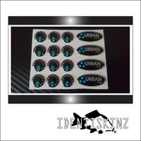 """URBAN baits""  Decal / Sticker Kit For The Delkim TXI PLUS EV  STD ALARMS ref1"