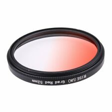 52mm Graduated Red Special Effects Lens Filter for All Digital Camera Lens