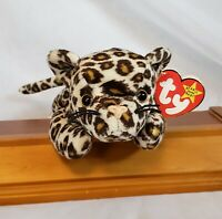 "Ty Freckles the Leopard 9"" Original Beanie Baby Collection 1996 w/ TAG Retired"
