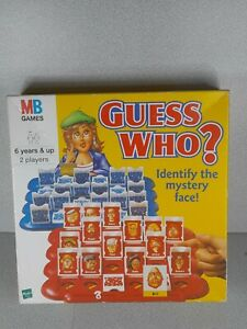 MB Guess Who? MB Games 2000 Edition Board Game Hasbro Guess Who?