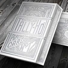 Limited Edition Tally-Ho Masterclass (White) Playing Cards from Murphy's Magic
